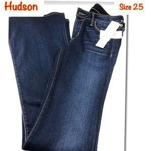Hudson Women's Mia Elysian Bootcut stretch Jeans